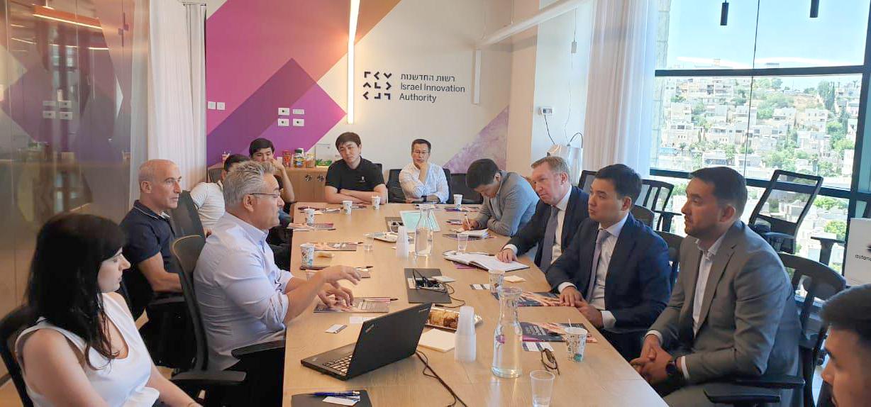 14.08.2019 Astana Hub обменяется опытом с Израилем в сфере инновационных технологий